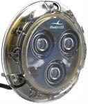 Faro ad immersione completa Piranha P3 SM 12V 18W a LED Bianco #26001270