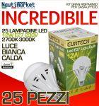 Kit da 25 Lampadine a LED E27 12W 230V 2700K-3000K - Codice: 27561216-25