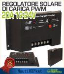 Regolatore Solare di Carica PWM 12-24V 20A #30550707