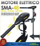 Motore fuoribordo elettrico Sunelexe SMA-48 Spinta 21,8 Kg #75035466