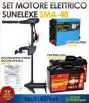 Motore Elettrico SMA-48 Spinta 21,8 kg 2 Batterie 12V 100Ah ricaricabile #75040023