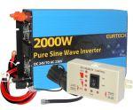 Kit Inverter Onda Pura 24/230V 2000/4000W con Pannello di Controllo Remoto #22022304