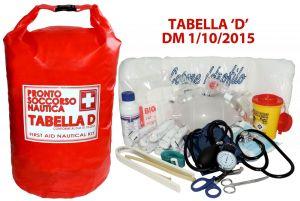 Pronto soccorso DM 1/10/2015 Tabella D Navigazione in sacca stagna #56004780