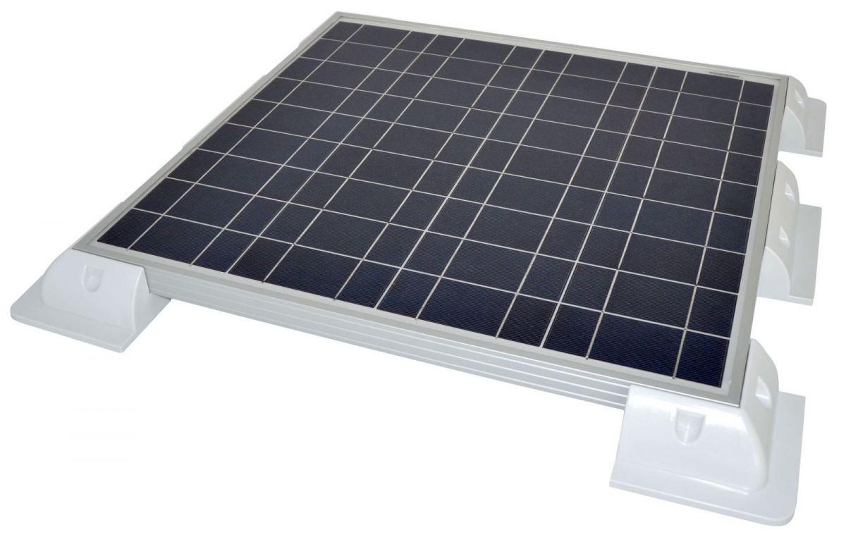 Pannello Solare Camper : Supporto angolare pannello solare fissaggio su camper