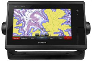 "Garmin GpsMap 7407 J1939 Display 7"" Multifunzione Touchscreen 010-01379-10 #60120039"