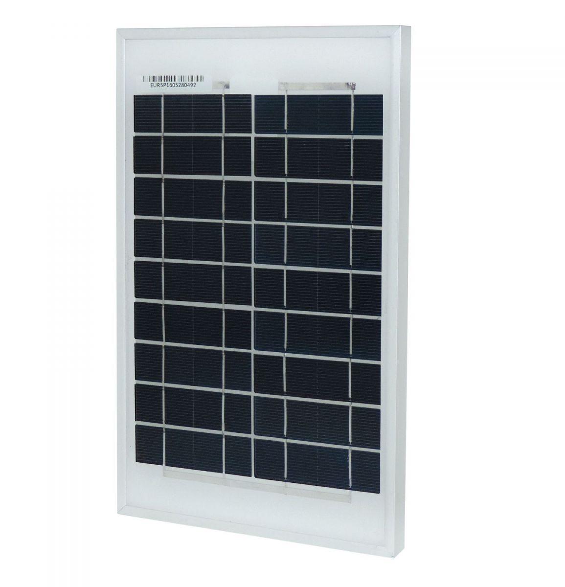 Pannello Solare Da 6v : Pannello solare w v modulo fotovoltaico silicio