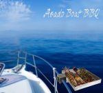 Asado Boat Barbecue da Battagliola per tubo D.25mm 32x24x5cm #17259055
