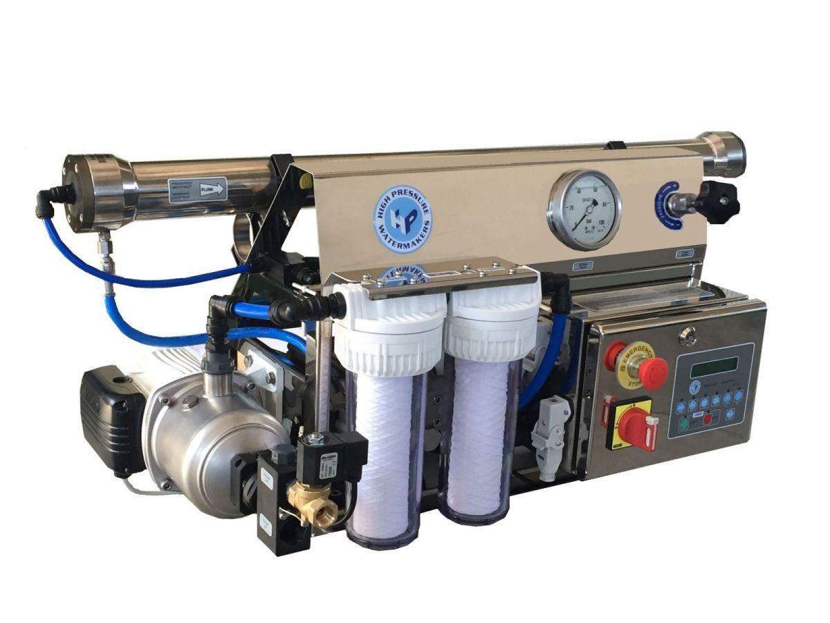 Dissalatore hp sc 230v portata 140 lt h regolazione - Portata pressione ...