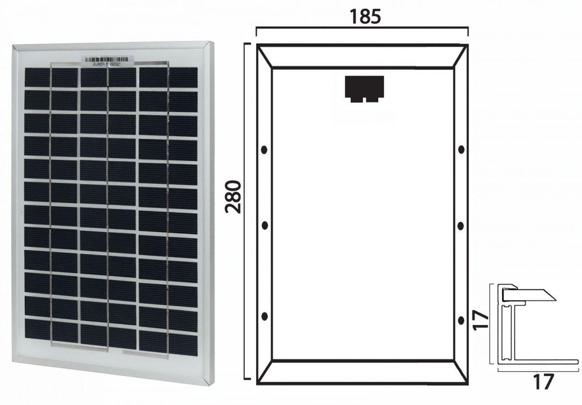 Pannello Solare Prezzo : Pannello solare v w modulo fotovoltaico silicio