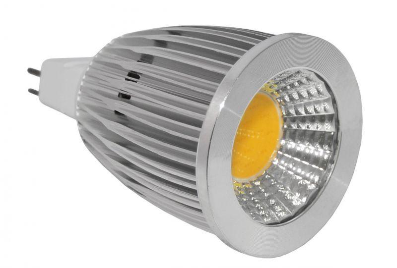 Faretto led 7w 12v attacco mr16 6000 6500k luce bianca for Faretto led 12v