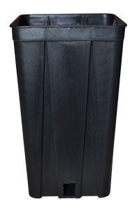 Vaso quadro - D.10 - H.17 - Lt.1,4 - Codice: 80067
