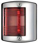 Luce di via in acc.inox - Luce rossa (112,5°) - 64x58xH75mm - Codice: 25101902