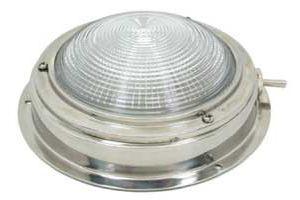 Plafoniere Con Interruttore : Plafoniera da interno in acc.inox d.140mm con interruttore