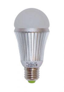 Lampadina a LED E27 9W-230V - 6000K Bianca fredda - Codice: 27590001