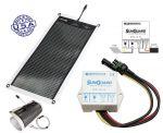 Kit POWERFILM Pannello Solare 7 Watt Flessibile e Regolatore di Carica #30150600