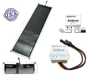 Kit POWERFILM Pannello Solare 14Watt Flessibile e Regolatore di Carica #30150601