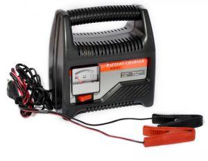 Caricabatterie Portatile 6-12V 8A per Batterie ad Acido con Amperometro #21020968