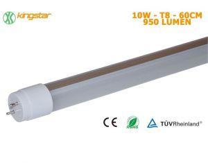Tubo LED T8 60cm 10W 4500K Luce Naturale 950Lumen CE Rohs TUV #27560001