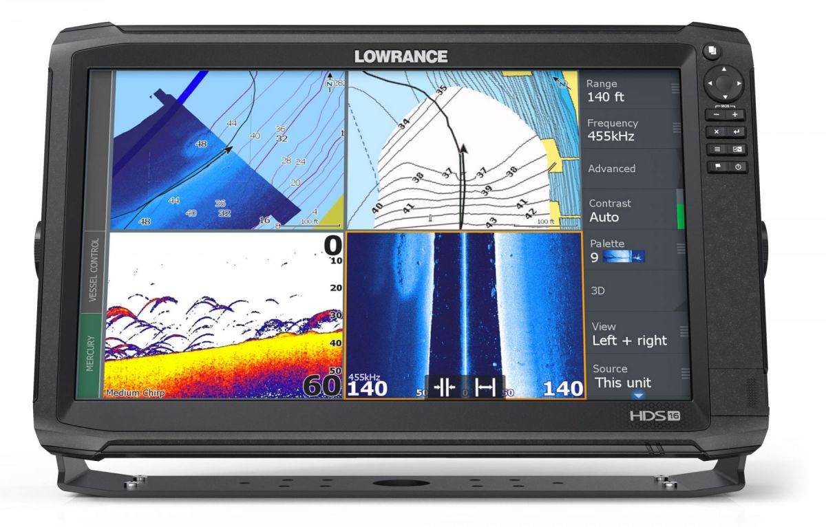 Lowrance Hds 16 Carbon Row 3d Bundle Structurescan Transducer 000 7 Pin Wiring Diagram For A 13739 001 62120199