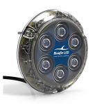 Piranha P12 SM 12/24V 55W Blue LED Light #26001278