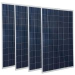 Kit 4pz TRIENERGIA Modulo Fotovoltaico 270w 60 Celle Policristallino Made in EUROPE #30050550-4