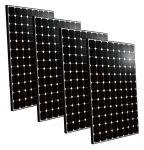 Kit 4pz BenQ Modulo Fotovoltaico 335w 60 Celle Monocristallino Black MADE IN TAIWAN #30050625-4
