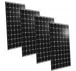 Kit 4pz BenQ Modulo Fotovoltaico 300w 60 Celle Monocristallino Black MADE IN EUROPE #30050635-4