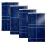 Kit 4pz Solarwatt Modulo Fotovoltaico 270w 60 Celle Policristallino MADE IN GERMANY #30050710-4
