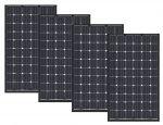 Kit 4pz Solarwatt Modulo Fotovoltaico Vetro-Vetro 300w 60 Celle Monocristallino MADE IN EUROPE #30050725-4