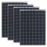Kit 4pz Panasonic Modulo Fotovoltaico 295w 88 Celle Monocristallino MADE IN JAPAN #30050745-4
