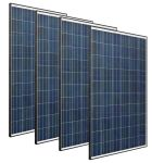 Kit 4pz Tile Red Modulo Fotovoltaico 250w 60 Celle Policristallino MADE IN ITALY #30050805-4
