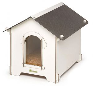 Cucciolotta Classic Doghouse for outdoor dogs Size M #930CLSMDGB010