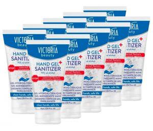 Gel Igienizzante Mani 75ml Antibatterico Disinfettante 70% Alcol 10Pz #N90056004626