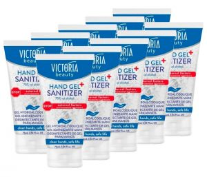 Hand Gel Sanitizer 75ml Antibacterial Disinfectant 70% Alcohol 10Pcs #N90056004626
