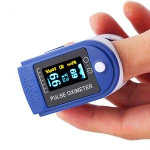 Pulsossimetro Saturimetro Cardiofrequenzimetro da dito SpO2 PR #N90056004581