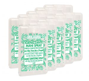 Natural Hand Sanitizer Spray 18ml Antibacterial 10Pcs #N90056004631