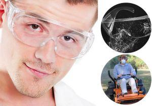 Occhiali protettivi antispruzzo e antipolvere TBD0480953 160x130mm #N71547617600