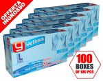 Disposable 100 Boxes of 100 pcs Nitrile Gloves Size L Total 10000 Gloves #N71547617576