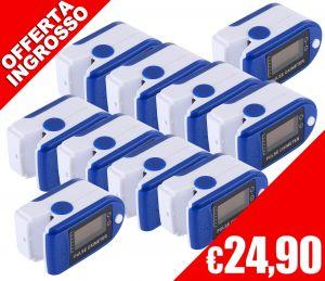 Pulsossimetro Saturimetro da dito SpO2 PR JZK-301 10Pz #N90056004584