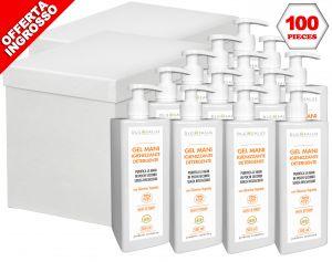 DLG SALUS Hand Sanitizer Cleanser Gel 500ml 100Pcs #N90056004650