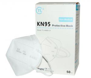 Mascherina KN95 superiore a FFP2 TL-KN95-01 Certificata CE 2797 50Pz #N90056004623-50