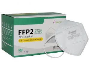 FFP2 KN95 Baner BT-005 Protection masks Certified CE #N90056004604-50