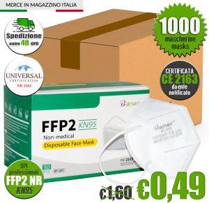 Mascherina FFP2 KN95 Certificata CE Baner BT-005 #N90056004604-1000
