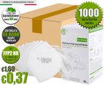Mascherina FFP2 NR Certificata CE 0598 TL-KK95-01 Min 1000Pz #N90056004624-1000