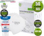 Kit di protezione 50 Mascherine FFP2 + in OMAGGIO Gel Victoria Beauty #N90056004624G