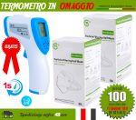 Pacchetto OFFERTA 100 Mascherine FFP2 + Termometro in OMAGGIO #N90056004513