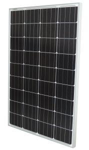 Pannello solare 12V 100w (110w) Eursolar Modulo Fotovoltaico Monocristallino #30050170