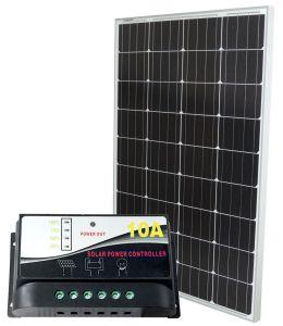 Kit solare 12V 100W Mono con Regolatore PWM 12V 10A #30200113