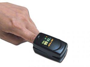 Pulsoximetro da dito OXY-6 con Allarmi #56004580