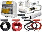 Kit di Collegamento e Fissaggio per kit Fotovoltaico Modello Premium A1 #31500300